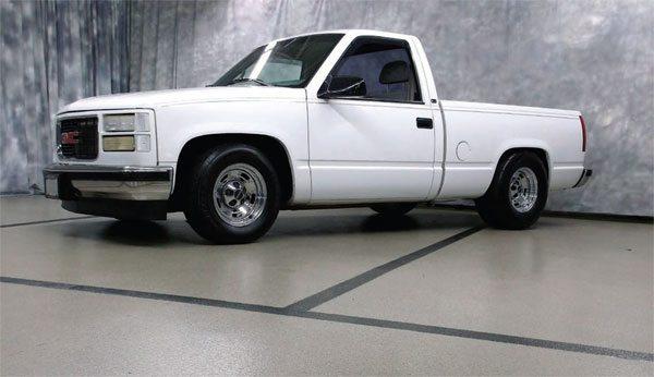 Jeff Jones' Twin-Turbo 1998 GMC truck. (Photo Courtesy Jeff Jones)