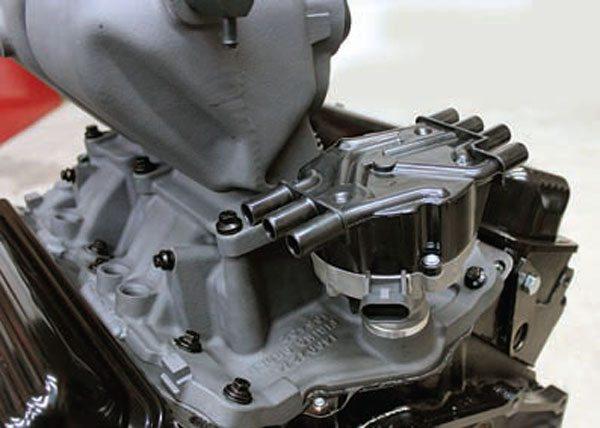 Vortec distributor installed in engine.