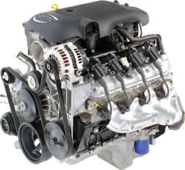 The LS1 was not the lone Gen III in the stable for long. Beginning in 1999, truck variants began appearing, like this 6.0L RPO LQ4. Though they share the same basic engine architecture as car versions, Gen III engines designed for light truck duty are easily distinguishable by their taller intake manifolds. (Photo courtesy of General Motors)
