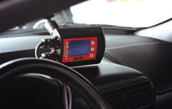 Back in Chapter 2, we hinted at the usefulness of scan tools in helping read trouble codes that could arise with your newly rebuilt engine. While dedicated scan-only tools are available, so-called handheld tuners (like this one from Hypertech) are a good option because they also provide pre-set fuel and ignition maps that are designed to improve on the factory tune. Some can also accommodate or make adjustments for certain mild modifications like external bolt-ons. For these reasons, stock or near-stock rebuilds stand to benefit significantly from one of these units