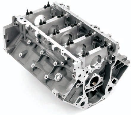 The LS9 is a sturdier version of the L92/LS3, adding piston oil squirters and forged-steel main caps. The internal structure (the webbing) was also beefed up considerably in critical areas, which allowed the supercharged LS9 to endure some grueling endurance tests. For better clamping with boost, larger head bolts are used.