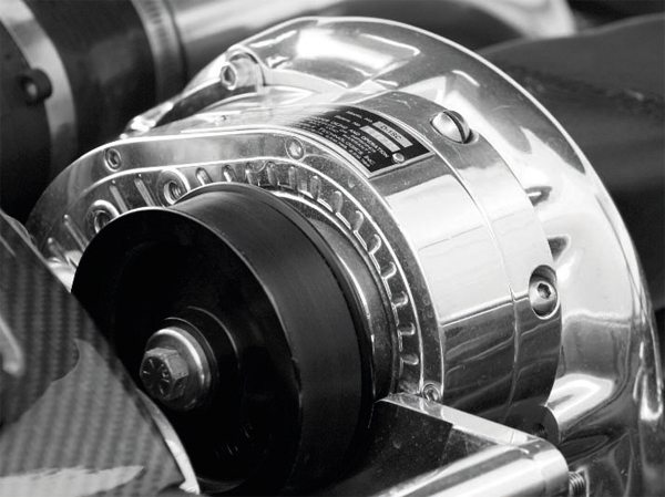 Unlike a Roots or twin-screw blower, which delivers maximum boost at relatively low RPM, a centrifugal, like this ProCharger D1SC, increases its airflow with the RPM, much like a turbo. Maximum boost comes at the engine's maximum RPM.