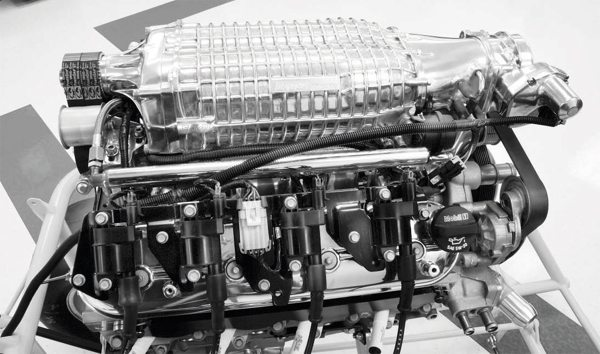 Getting the most from a supercharger, regardless of the compressor design, is dependent on flowing enough air to satisfy the airflow capability of the engine. A blower's maximum boost will not be realized on a large-displacement engine that isn't matched with a commensurately sized compressor.