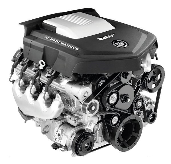 Cadillac CTS-V LSA 6.2-liter. (Photo courtesy General Motors)