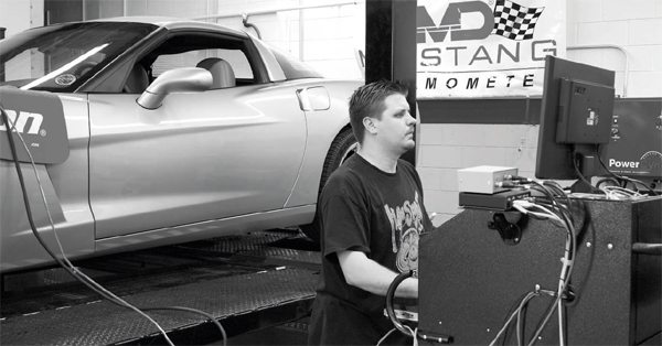 Because of the additional modifications, including cylinder heads and a camshaft, the manufacturer's tuning software wasn't sufficient for this project. A custom tune was created at Stenod Performance and the Corvette delivered 508 hp and 439 ft-lbs of torque at the rear wheels through an automatic transmission. This was on a Mustang dyno that typically isn't as optimistic as comparable chassis dynos from other manufacturers. That's a significant 170 hp/110 ft-lbs jump over the baseline 338 hp/329-ft-lbs numbers.