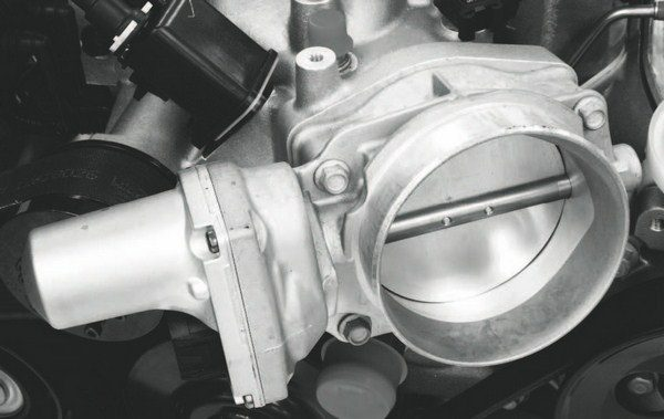 Most Gen IV LS engines use electronically controlled throttles, but they're not all manufactured with the same internal components. A strong throttle spring is necessary to prevent boost creep that affects tuning and could possibly harm the engine. Higher-boost supercharged and turbocharged engines must all have adequate bypass valves and/or blow-off valves or waste gates.