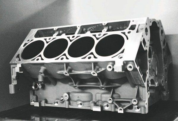 This is GM's standard 6.0-liter LS2 cylinder block, which is adequate for lowand moderate-boost engines that see primarily street and limited strip duty. Using a production-based, four-bolt block means keeping boost below 20 pounds. Production blocks are very affordable over the counter from GM dealers, and used cores are becoming less expensive as more show up at salvage yards. An even cheaper alternative (if you don't mind the weight penalty) is an iron LS block from a truck, such as the Silverado or Suburban.