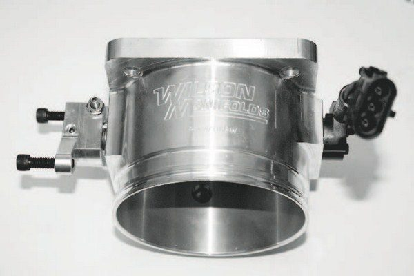 Cable-operated throttle bodies are manufactured in a number of very large sizes to suit high-power racing engines, but options for engines with electronically controlled throttles are limited. Some companies offered ported and modified versions of production throttle bodies, but their effectiveness is limited, as they simply don't offer a significantly larger flow path for the air charge.
