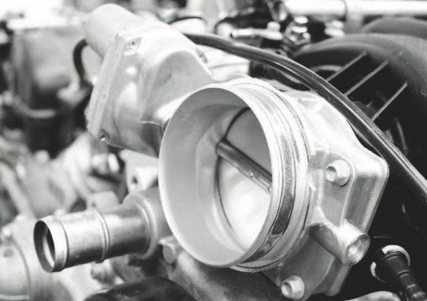 The 90-mm electronic throttle body found on LS7 and LS9 engines (they are of similar diameters, but not the same part), is sufficient for 6.2-liter and smaller engines, making up to approximately 1,000 hp. With largerdisplacement engines, the airflow requirements are greater and the 90-mm unit runs out of breath around the 750- to 800-hp level.