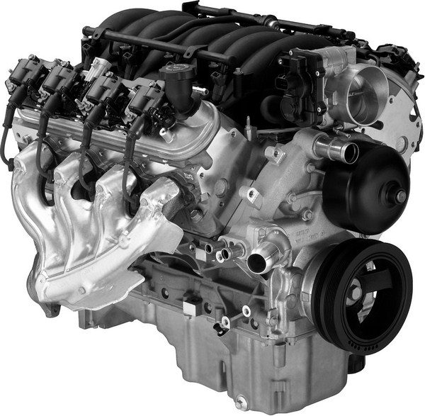 """Unlike the Gen I small-block, LS-series motors were designed from the very beginning as corporate GM power plants, so referring to them as smallblock Chevys or Mouse motors is inaccurate. Since the first variant of the Gen III small-block was named the LS1, many use """"LS1"""" as a generic name for all Gen III/IV engines. Adding to the confusion is that while Gen III and IV truck motors are usually labeled """"Vortec,"""" they share the exact same architecture and many of the same parts as their """"LS"""" counterparts. So whether you call them LS1s, Gen III/IV small-blocks, or LS motors, you are referring to the same great family of engines. (© GM Corp.)"""