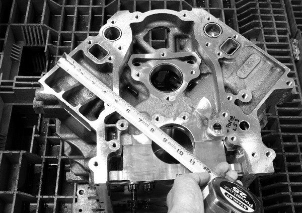 The distance from the crankshaft centerline to the block deck is known as the deck height. Taller-deck blocks can accommodate longer strokes, and, therefore, more cubic inches. All Gen III/IV small-blocks have a deck height of roughly 9.024 to 9.026 inches.