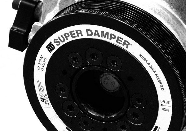 In engine combos exceeding 600 hp, an aftermarket balancer is a wise investment. The ATI Super Damper is a favorite of many engine builders, and it is SFIapproved for competition use.
