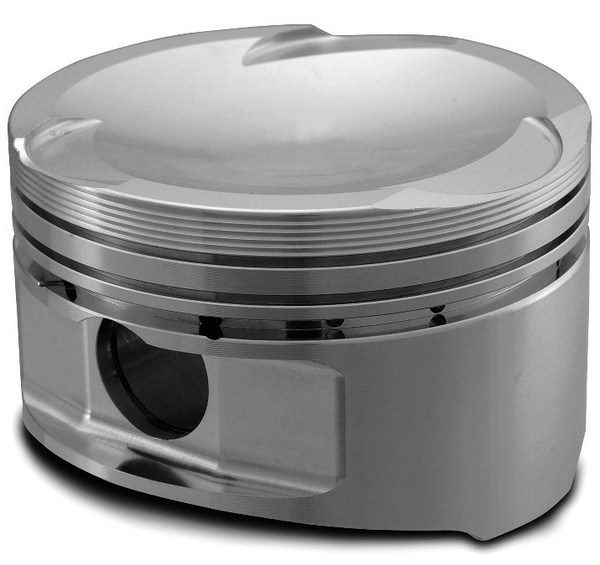 The critical areas of a piston include its compression height (A), skirt (B), crown (C), ring land (D), top ring groove (E), second ring groove (F), and oil ring groove (G).