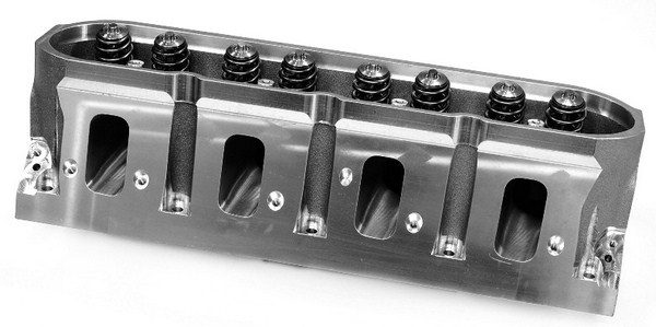 In addition to greater airflow potential, aftermarket cylinder heads boast an all-around superior casting design. Common features include thicker deck surfaces, raised valve cover rails, and beefier port walls.