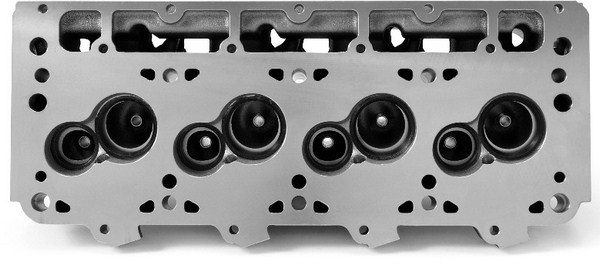 Edelbrock's Victor LSR cylinder heads aren't for the faint of heart or budget. These raw castings feature unfinished ports and combustion chambers, so designing them is up to the end user. The reward for all that hard work is immensely powerful ports capable of flowing more than 450 cfm. (Photo courtesy of Edelbrock)