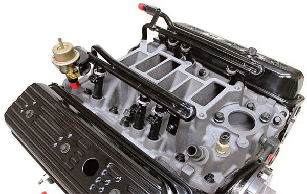 Syclone/Typhoon lower intake manifold with six injectors.