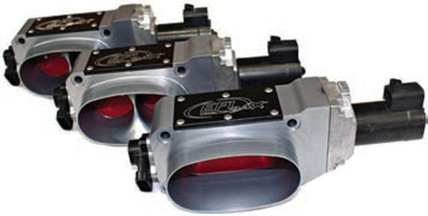 EFI Connection's lineup of electronic throttle bodies for TPI, LT1, and Ram Jet 502 are available in common sizes: 52 mm, 58 mm, and oval mono blade.