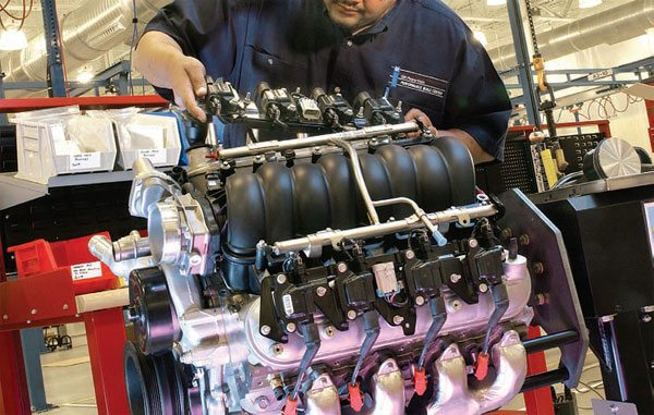 All Gen III/IV engines are distributorless, and all but one is fuel injected. If you're buying a used engine, retain all the wiring and electronics for almost every engine swap, unless you're using an aftermarket controller. (Photo Courtesy General Motors)