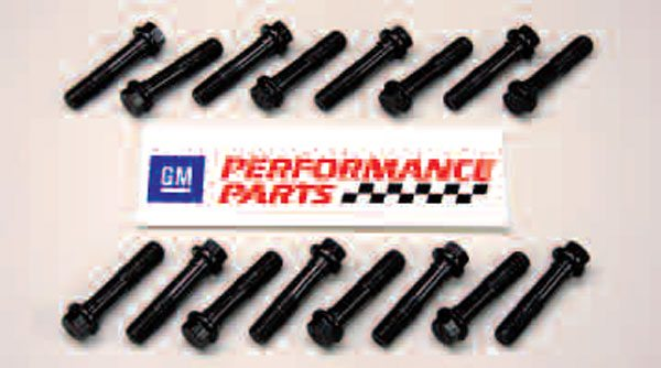"Though bolt-related failures are uncommon for LS rods, aftermarket bolts are a common upgrade to make factory rods even tougher. More of a ""factory alternative"" than a true aftermarket part, these LS6 rod bolts from GMPP are the same ones used in later Gen III engines. They're available as a set and are a nice upgrade over just reusing your original bolts, particularly if you're rebuilding a pre-2000 engine."