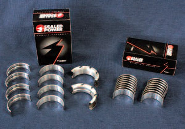 Choosing the incorrect size and shape of main and rod bearings can quickly destroy your engine. Fortunately, a selection of main and rod bearings are available to fit any LS block using any combination of crankshaft and connecting rods, factory or aftermarket. Whatever bearings you choose, make sure they're from a reputable manufacturer, such as Sealed Power.