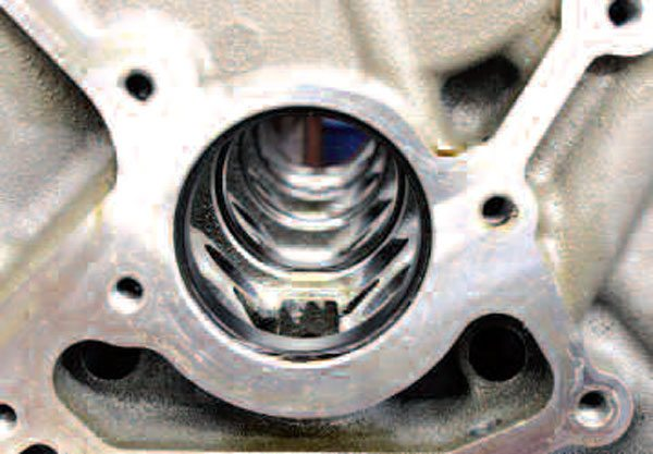 If you want to get fancy with cam bearings, you might consider coated bearings. These bearings are black because of a special fluoropolymer coating that is oil-retaining and also acts as a secondary lubricant. This helps protect against dry starts and other oil-starved operating conditions. The disadvantage? Coated bearings can be expensive.