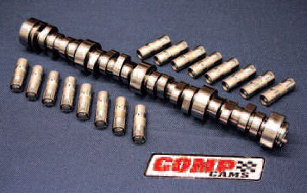 No matter what kind of high-performance engine you're building, COMP has an LS cam for you. This one is an XFI Xtreme Truck hydraulic roller designed for engines intended for serious towing and hauling. COMP offers a full line of Gen III/IV cams designed for any application and RPM range you might want, along with hydraulic roller lifters (a.k.a. tappets) to match.