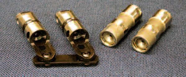 "Extreme high-RPM applications may even consider installing a cam that uses solid lifters, like these LS-specific ones made by COMP (left). Though hydraulic roller lifter technology has advanced to where these types of cams can tolerate 7,000 rpm or more when paired with the correct components, the pump-up nature of hydraulic lifters (right) means it still makes sense to ""go solid"" if you're looking to turn, say, 8,000 rpm at the top end of a quarter-mile track! The disadvantage is the required periodic maintenance of checking and adjusting valve lash."