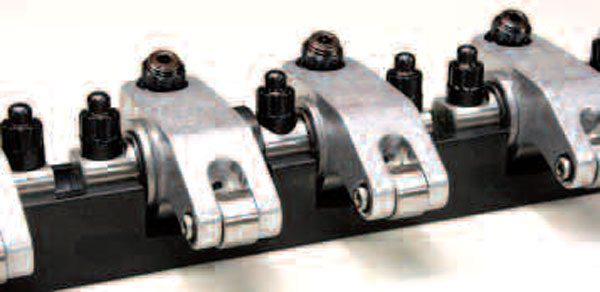 Shaft-type rockers are second-to-none when it comes to withstanding the more violent valve openings of a high-performance engine. Their stability also ensures more accurate valve events at high RPM, along with reduced frictional losses over a more conventional stud-and-guideplate rocker system. Reduced valvetrain friction equals more power and longer component life, plus all aftermarket shaft rocker systems are fully adjustable. These shaft rockers are made by COMP specifically for LS engines.
