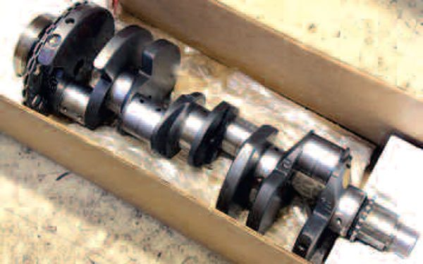 If in good condition, reuse of your factory crankshaft can be an excellent route to take. This doesn't just apply to your standard rebuild, either: thanks to high-strength features like journals with undercut and rolled fillets, many LS engine shops and tuners have found them to be good to 600 hp or more! Use extreme care when storing and/or transporting your crank to your machine shop—a special crank box presents the least chance for damage.