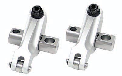 Some of the highest horsepower and most expensive LS builds (from actual C5R race engines to 2,000-horse turbocharged LSXs) have sported Jesel shaft-mount rockers such as these Pro J2Ks. The MoHawk design significantly decreases mass on the valve tip, which allows increased RPM without increasing spring pressure. The design is carefully calculated by balancing strength and weight, and they are custom built based on spring pressure. They can even be machined for valvespring oiling. Jesel also makes more economical Sportsman and Pro series lines.