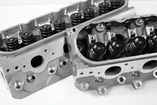 Excellent airflow characteristics of the basic LS cylinder head design greatly exploit the benefits of forced induction, as air is easily and quickly moved through the engine. Because of this, a higher-capacity supercharger or larger turbo is often used, when compared to older, previous generation Chevy small-block designs, to fulfill the airflow capability of the free-flowing LS engine.