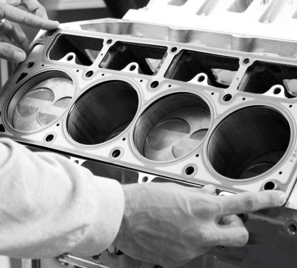A premium, multi-layer steel head gasket is an absolute must when building a force-inducted LS engine, particularly on higher-boost engines that don't have the benefit of six-bolt head clamping. Fel-Pro and Cometic Gasket manufacture what have become the preferred gaskets for professional builders.