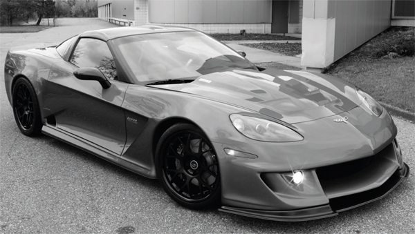 This is a Specter Werkes Sports' Corvette GTR equipped with a Lingenfelter Performance Engineering twin turbocharged LS7 engine. It is a completely streetable engine combination that runs on pump gas, but delivers a stunning 800 hp. Such performance doesn't come cheaply, however. The engine package lists for more than $45,000. (See Chapter 6 for installation.)