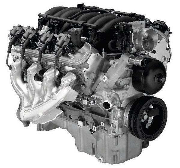 LS1 5.7-liter Gen III. (Photo courtesy General Motors)