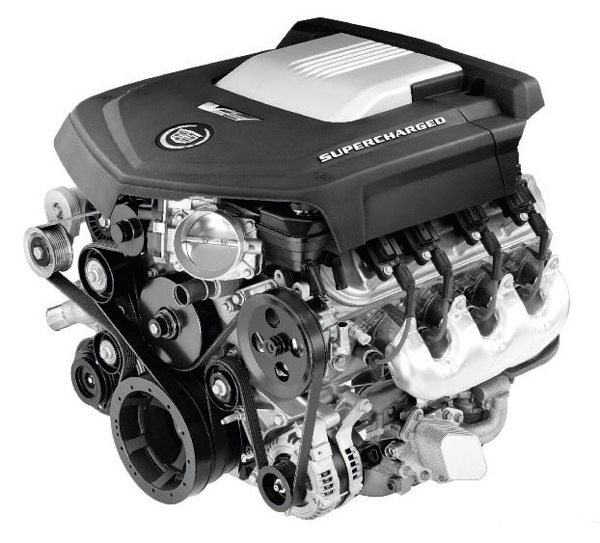 LSA 6.2-liter supercharged Gen IV. (Photo courtesy General Motors)