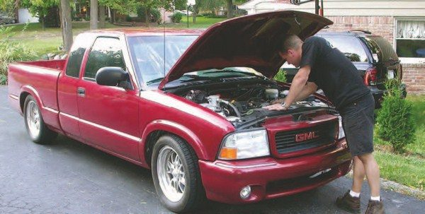 S10 pickups like this one are great to add Gen III V-8s to. They're plentiful, inexpensive hot-rod toys that are a hoot to drive with a hopped-up LS1 under the hood.