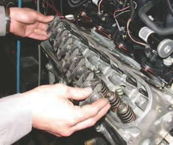 1. If you are just swapping the cam, then skip unbolting the intake and draining the coolant (shown in the next few captions), but do remove the coil packs, valve covers, and rocker bolts. Pull the pushrods. It's a good idea to replace the stock 8-mm pushrods with 0.080-inch wall thickness chrome-moly pushrods whenever you upgrade the camshaft.