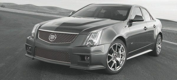 "Along with the Corvette ZR1, GM launched another factory-supercharged car in 2009: the Cadillac CTS-V. Like the ZR1, it featured a sixth-generation Eaton supercharger on a 6.2-liter engine, but the supercharger was smaller—resulting in ""only"" 556 hp. (Photo courtesy General Motors)"