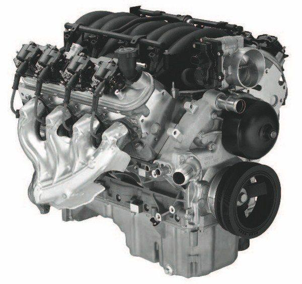 LS1 5.7-liter Gen III. (Photo courtesy General Motors)