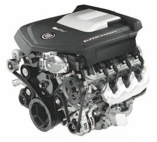LSA 6.2-liter supercharged Gen IV. (Photo courtesy General Motors)