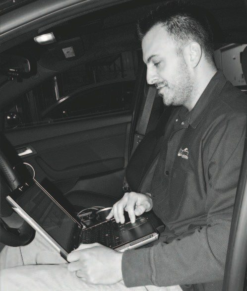 The Magna Charger kit comes with its own tuning software and programmer, but Livernois Motorsports' Dan Millen uses his company's X-Treme Cal Tuning software. Here, he feeds the G8's controller his tune. It is vitally important to never start an engine with non-original fuel injectors until the tune is uploaded, as engine damage will occur almost immediately! Once the engine is started for the first time, it should be turned off after a few seconds to check for any fuel, oil, or coolant leaks; serpentine belt alignment; and a general underhood examination. Also, make sure the fuel tank is filled with premium gasoline, as the tuning is typically dependent on at least 91 octane.
