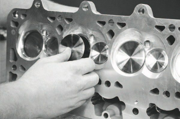 Stainless-steel intake valves are hard to beat when it comes to strength and heat resistance. High-boost supercharged and turbocharged engines should employ thermally active exhaust valves, such as sodium-filled or inconel material, to withstand severe heat. The largest valves used in production LS engines are the LS7's 2.20-inch intake and 1.61-inch exhaust valves.