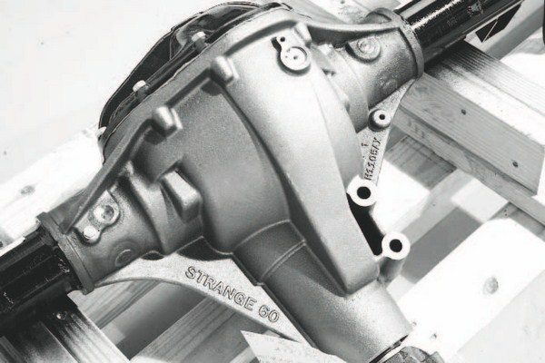 The S60 housing is not a refurbished junkyard Mopar part; it's an all-new part that is cast with suspension mounts for the F-car.