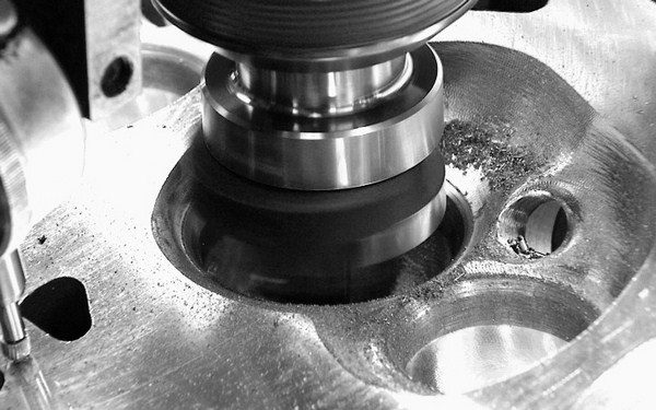 In performance applications, a 45-degree valve seat is the most common angle, as it offers a nice balance of airflow and durability. In a typical three-angle valve job, a 45-degree primary cut is matched with a 30-degree top cut and a 60-degree bottom cut. Serdi-style tools allow machining all three angles at the same time.